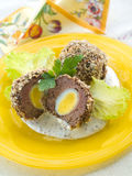 Scotch Eggs Royalty Free Stock Photography