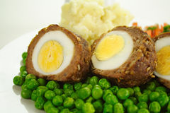 Scotch Eggs Royalty Free Stock Photo