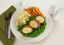 Scotch Eggs Royalty Free Stock Images
