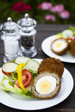 Scotch eggs Stock Images
