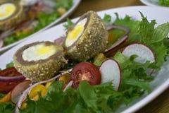 Scotch eggs Stock Photography