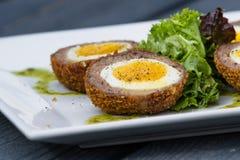 Scotch eggs Stock Image