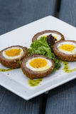 Scotch eggs Stock Photography
