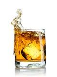 scotch färgstänk arkivfoto