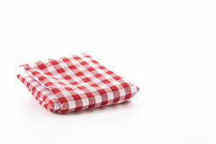 Scotch fabric. On white background Royalty Free Stock Images