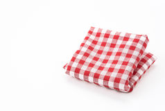 Scotch fabric. On white background Stock Photography