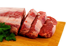 Scotch Fillet Steak Stock Images