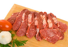 Scotch Fillet Steak Royalty Free Stock Image