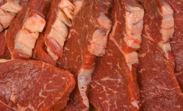 Scotch Fillet Steaks Royalty Free Stock Images