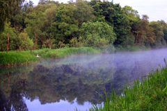 Scotch Mist on the Canal royalty free stock image