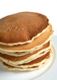 Scotch pancake pile Royalty Free Stock Photos