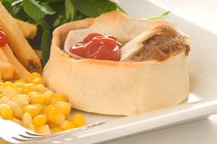 Scotch Pie Royalty Free Stock Image