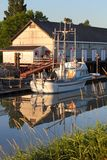 Scotch Pond Dusk, Steveston, British Columbia Stock Photography