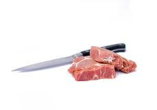 scotch steak för filépork Royaltyfria Foton