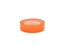 Scotch tape adhesive group colorful orange Stock Photos