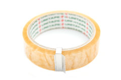 Scotch tape for crafts isolate on white background Royalty Free Stock Image