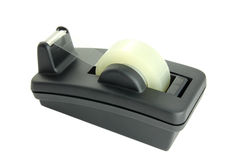Scotch tape dispenser isolated Royalty Free Stock Image