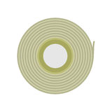 Scotch Tape Vector Icon in Flat Style Design. Scotch tape vector icon in flat style. Office supplies, tools and instruments. Illustration for application button Stock Photography