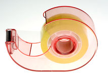 Scotch tape. On white background Royalty Free Stock Images