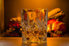 Scotch Whiskey in glass Stock Photography