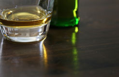 Scotch Whiskey on a Table Stock Image