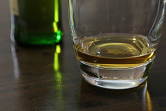 Scotch Whiskey in a Tumbler Stock Photo