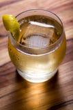 Scoth und Soda mit einer Torsion Lizenzfreie Stockfotos