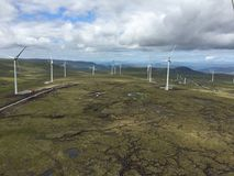 Scothish-windfarm Lizenzfreies Stockbild