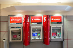 Scotiabank Automated Tellers in a Mall Stock Images