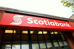Scotiabank Logo Stock Image