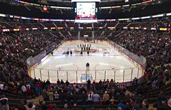 Scotiabank Place Stock Image