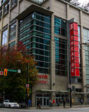 Scotiabank Theatre, Vancouver, BC Royalty Free Stock Images