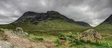 Scotish高地苏格兰,英国 库存照片