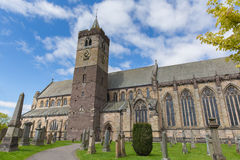 Scotish cathedral Dunblane Scotland UK near Stirling medieval church Royalty Free Stock Photo