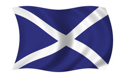 Scotish flag Stock Photography