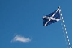 Scotish flaga z copyspace Zdjęcie Stock