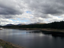 Scotish loch landscape royalty free stock images