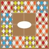Scotish Muster Stockbilder