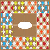 Scotish pattern Stock Images