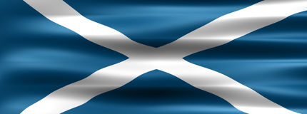 Scotland. Flag - Symbol of a country Royalty Free Stock Photography