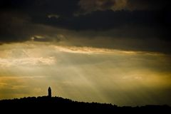 SCOTLAND. 'The Wallace Monument' Stirling, Scotland Britain stock image