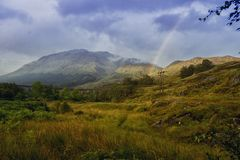 Scotland. Beautiful landscape in Scotland , United Kingdom Royalty Free Stock Images