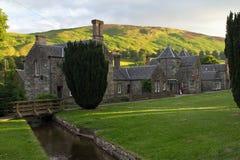 Scotland, blair atholl in the evening light Stock Image