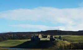 Ruthven barracks Scotland castle ruins royalty free stock photos