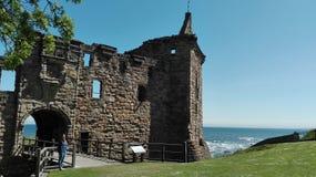 Scotland church stock photo