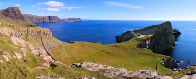 Scotland coast panorama Royalty Free Stock Image