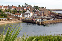 Scotland, crail, fishing village Stock Image