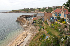 Scotland, crail, fishing village. The fishing village crail, scotland Royalty Free Stock Image