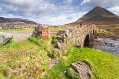Scotland-Cullins on Isle of Skye stock photo