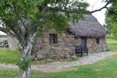 Scotland, culloden, old leanach cottage Royalty Free Stock Photography